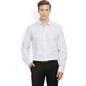 Arrow fitted stripped shirt